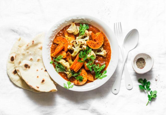Veganes Kürbis Curry